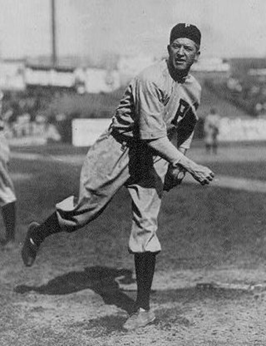 Grover Cleveland Alexander of the Phlllies, 1915.
