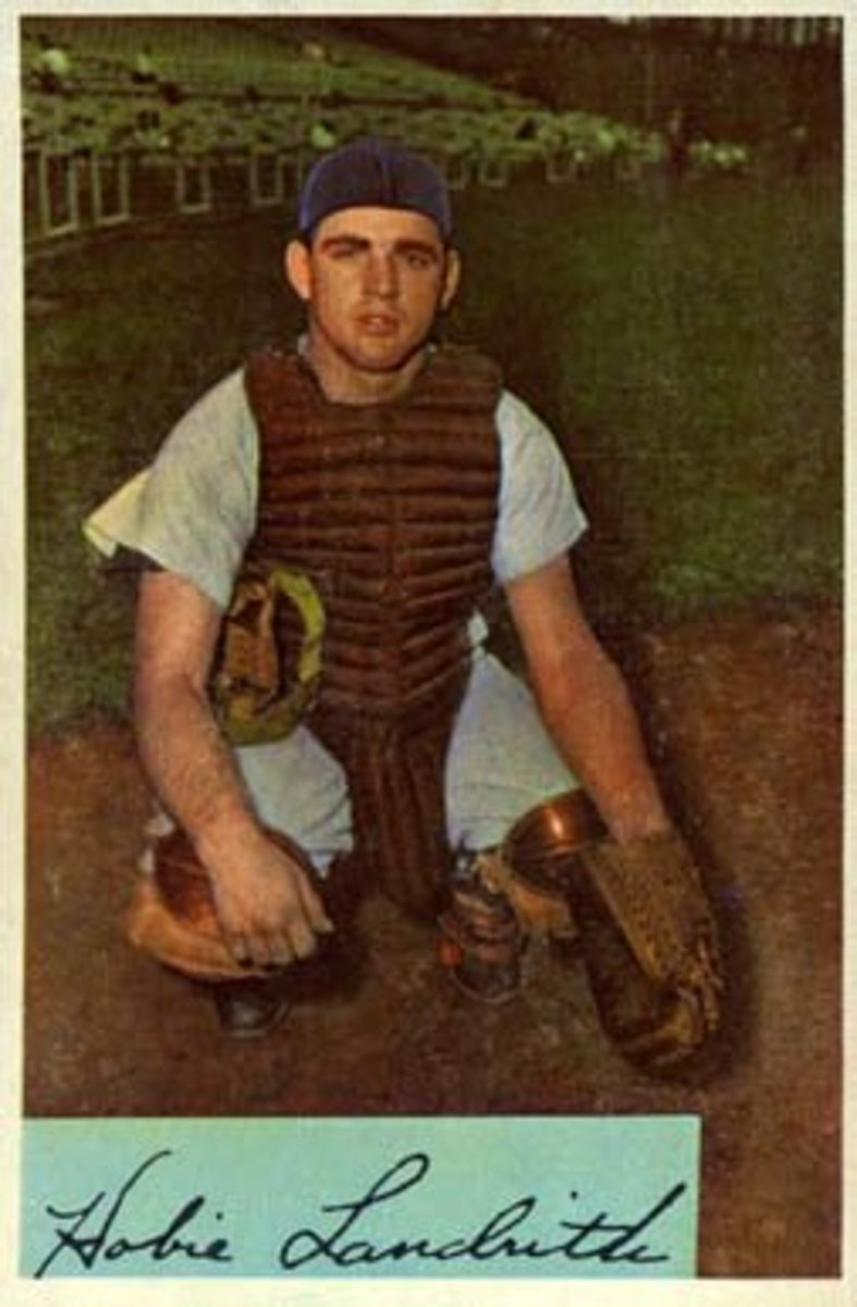 Catcher Hobie Landrith was the Mets' first selection in the 1961 expansion draft