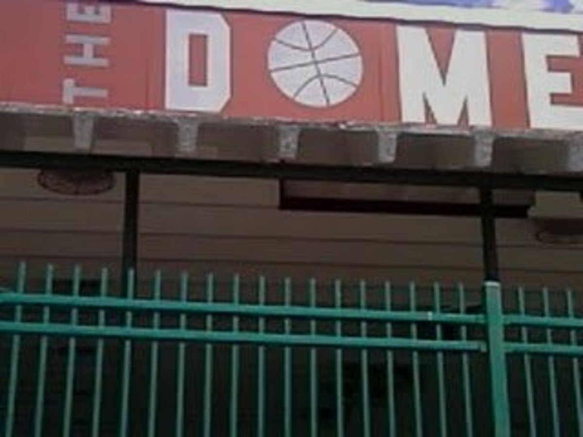 The Dome in Baltimore, where only the best are allowed to grace the playing courts