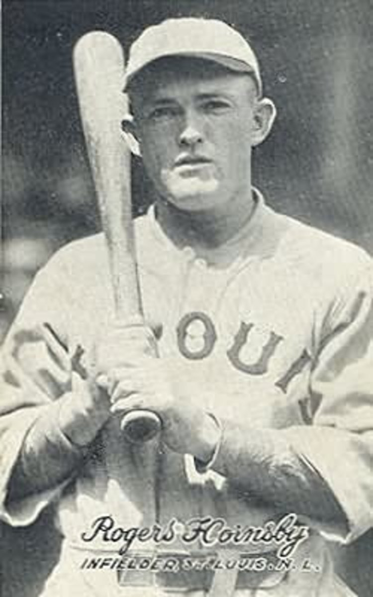 Rogers Hornsby, 1921.