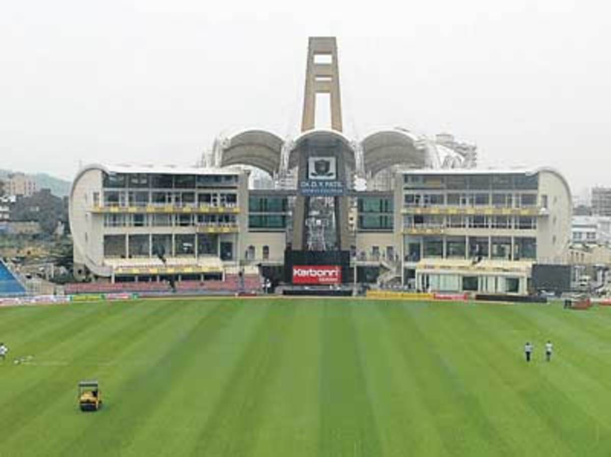 The posh looking DY Patil Stadium