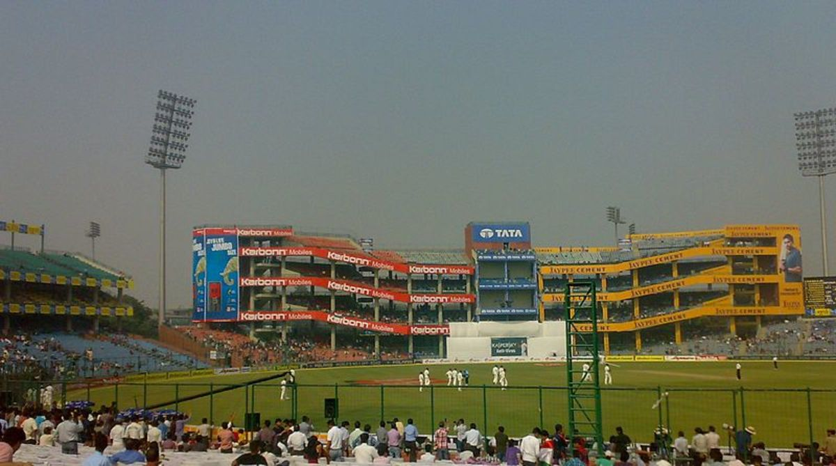 The Feroz Shah Kotla Stadium