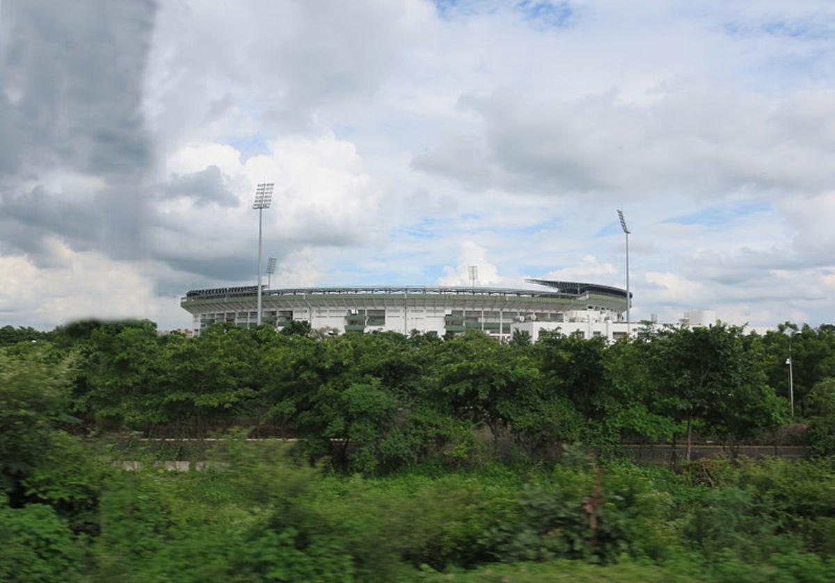 The VCA grounds in the city of Nagpur, Maharashtra, India.