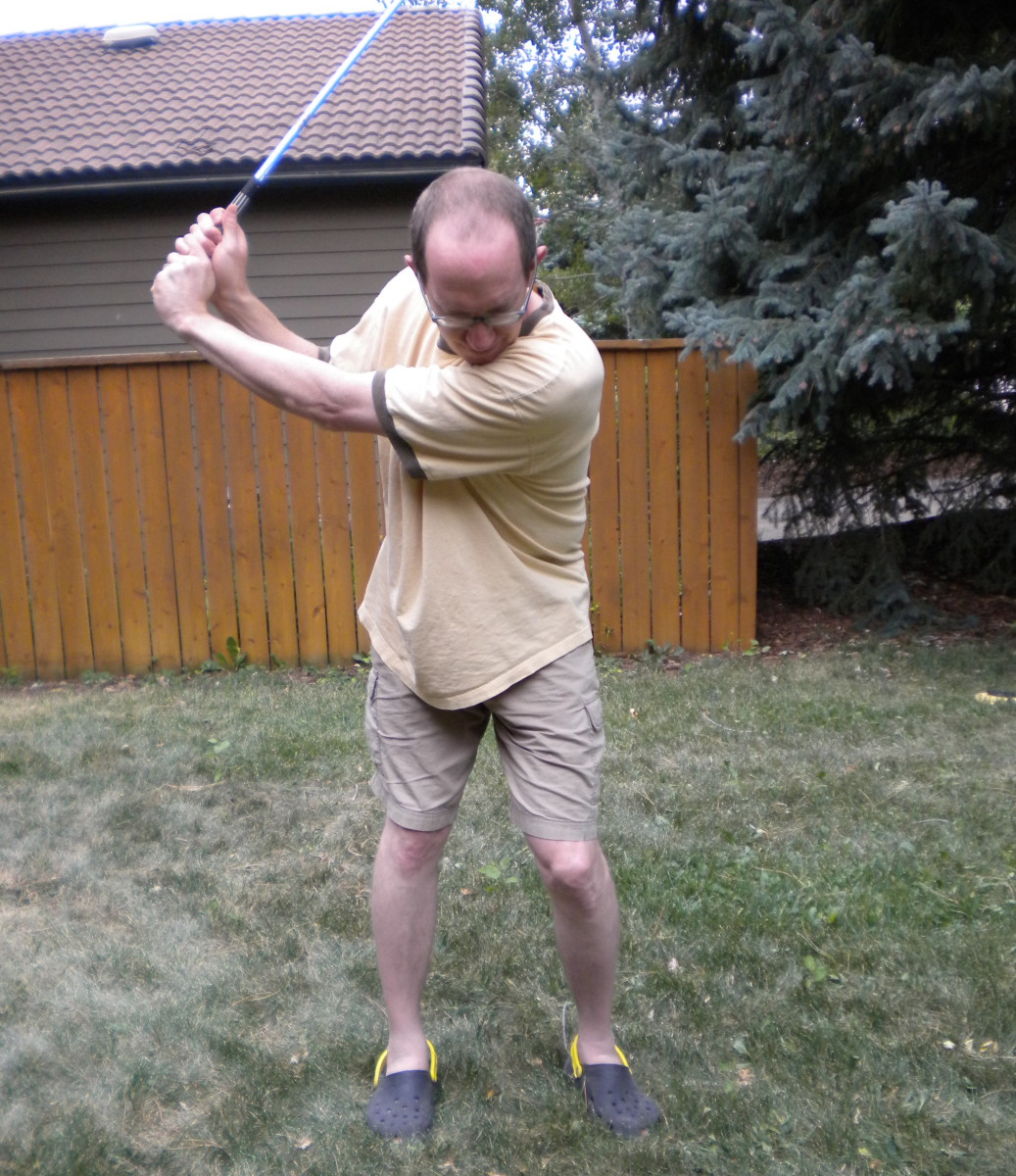 If most golfers only took their swing back this far, most would improve.
