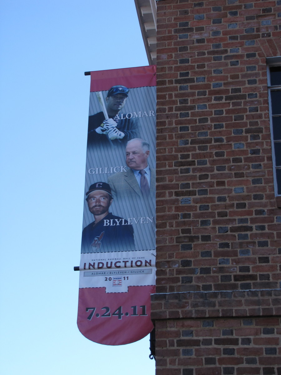 Baseball Hall of Fame and Museum - 2011 Inductees