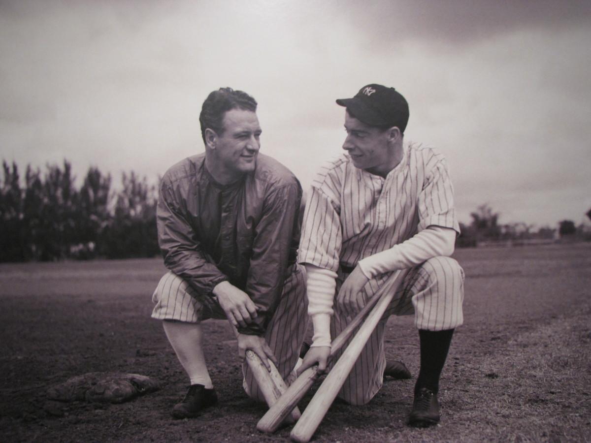 Gehrig and Dimaggio