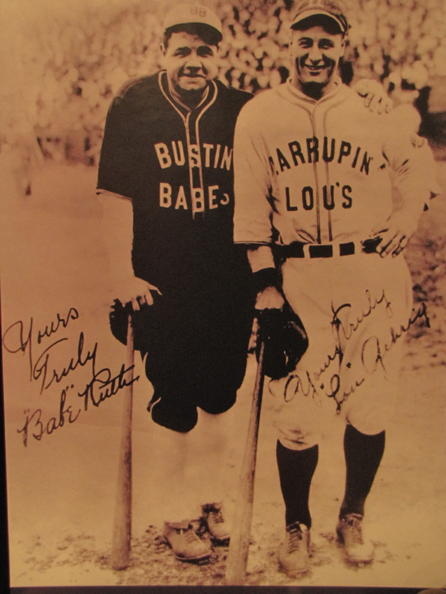 Ruth and Gehrig