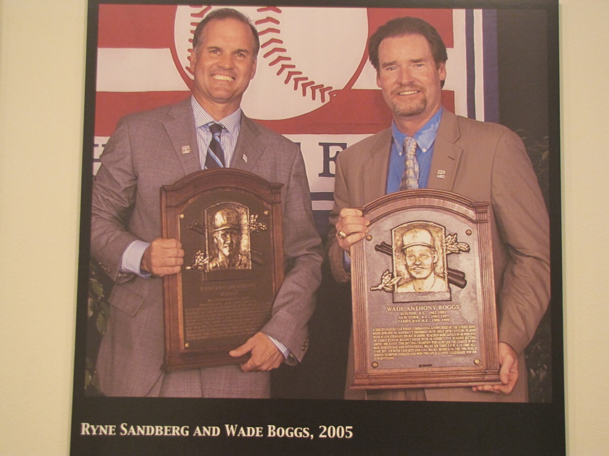Ryne Sandberg and Wadd Boggs