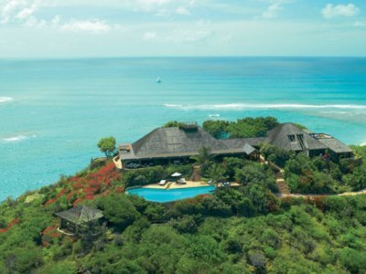 Necker Island—Richard Branson's Private Island