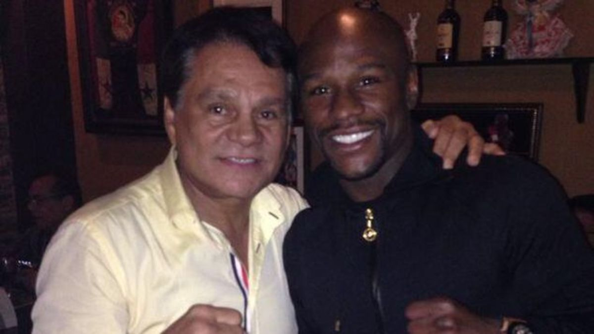 Duran and Floyd Mayweather
