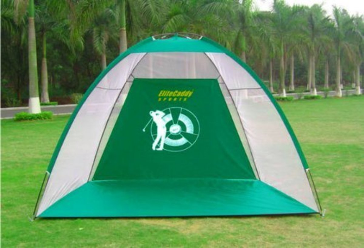 Elite Caddy 2 In 1 Golf Practice Net And Mat On Amazon.com