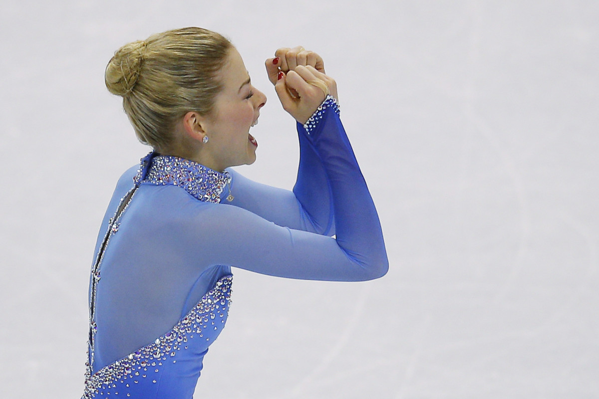 Gracie Gold at the 2014 Winter Olympics