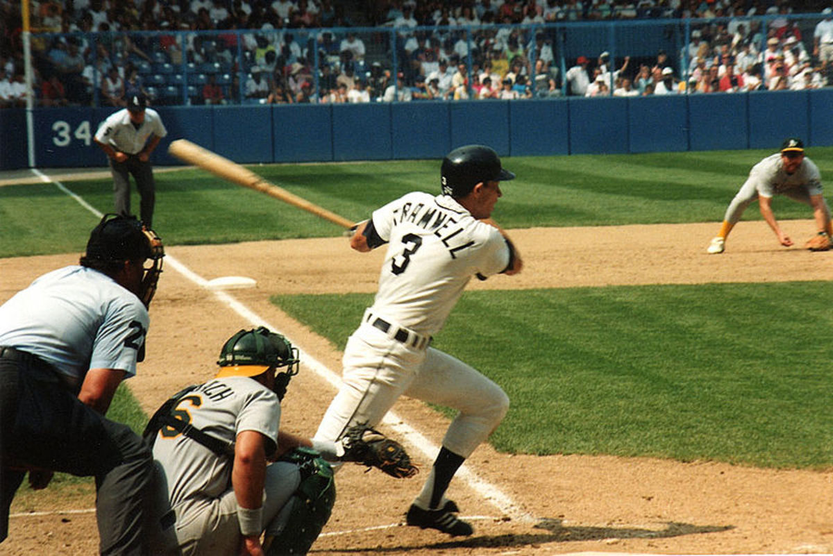 Alan Trammell's reliable bat helped the Detroit Tigers win the World Series in 1984.