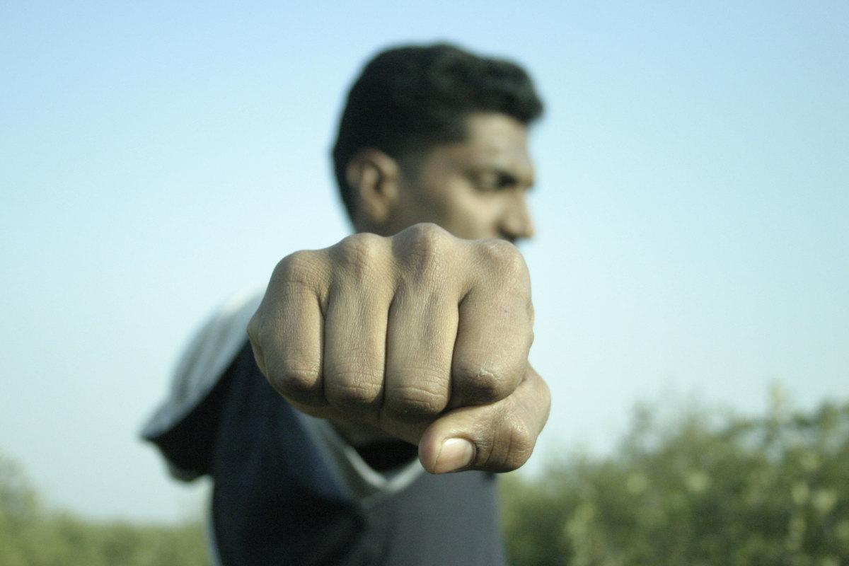 I strongly advise against punching baseballs.