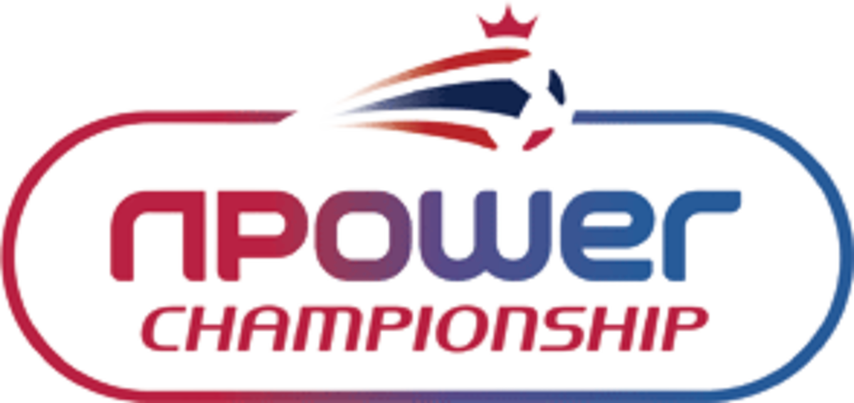 The logo of the Football League Championship currently sponsored by energy company npower.
