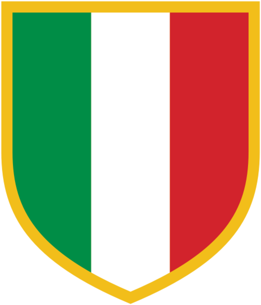 Whenever a team wins the Scudetto, they wear this logo on their team shirts, as a mark of their status as champions.