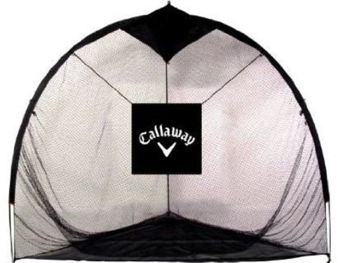 An example of a practice net.