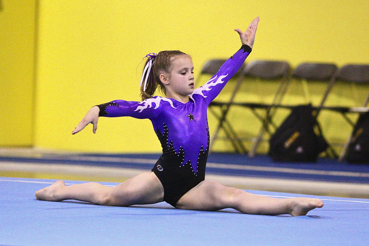 Level 6 Girls Gymnastics Floor Routine (2/5)