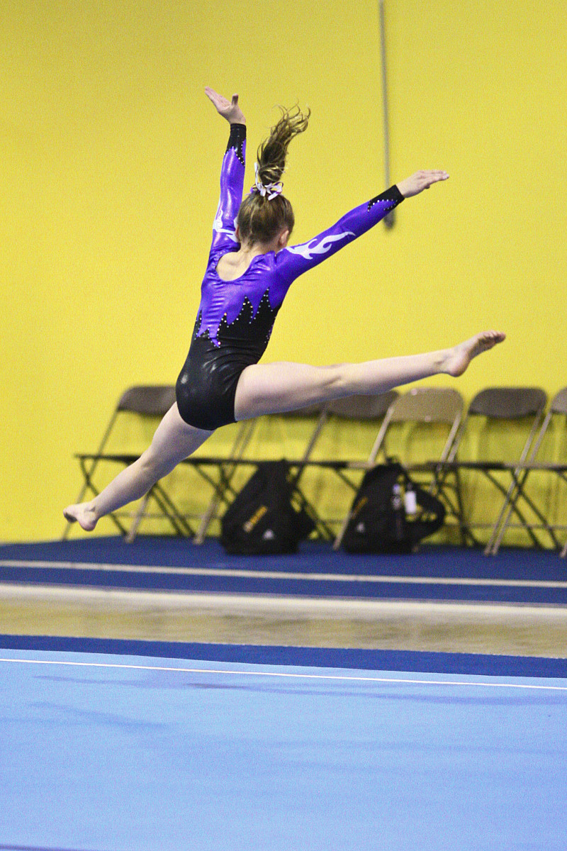 Level 6 girls gymnastics floor routine