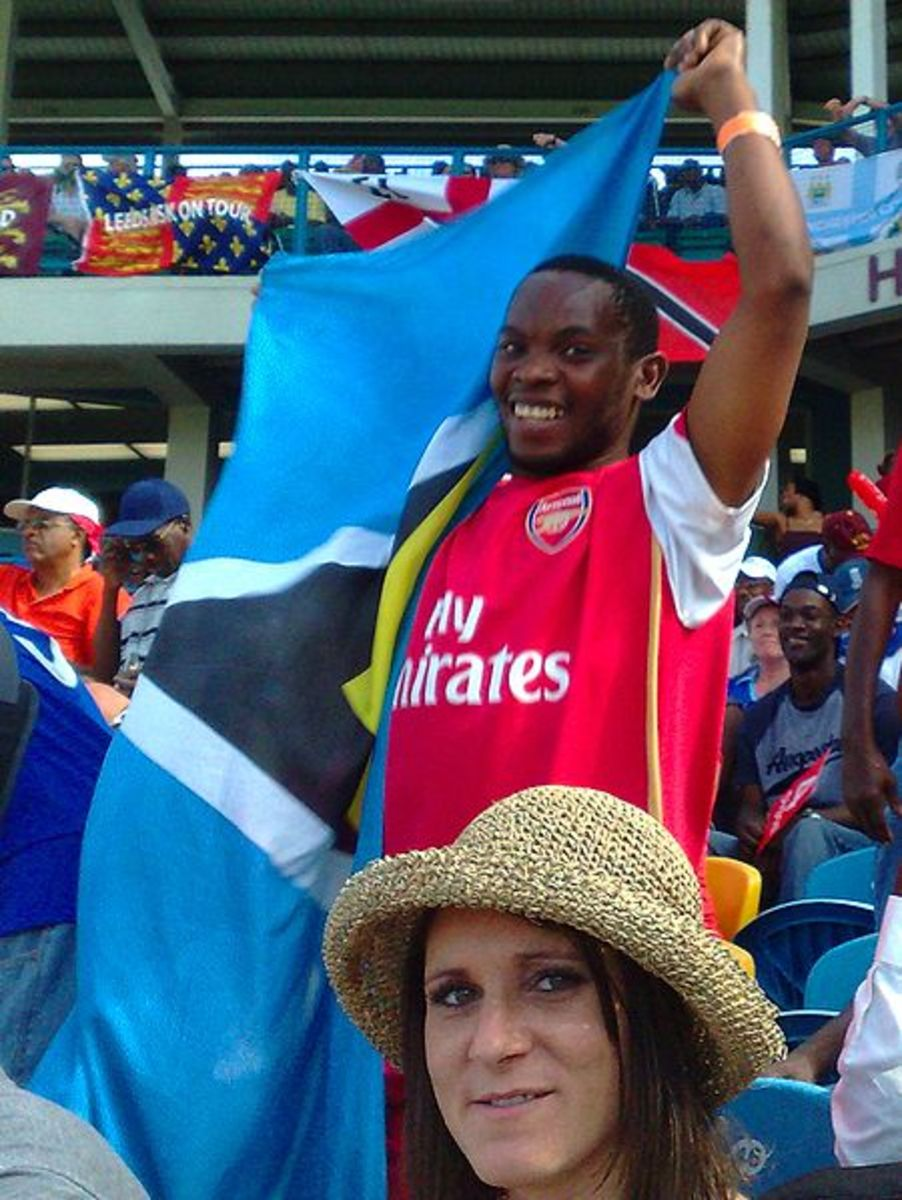 The EPL attracts all sorts of supporters.