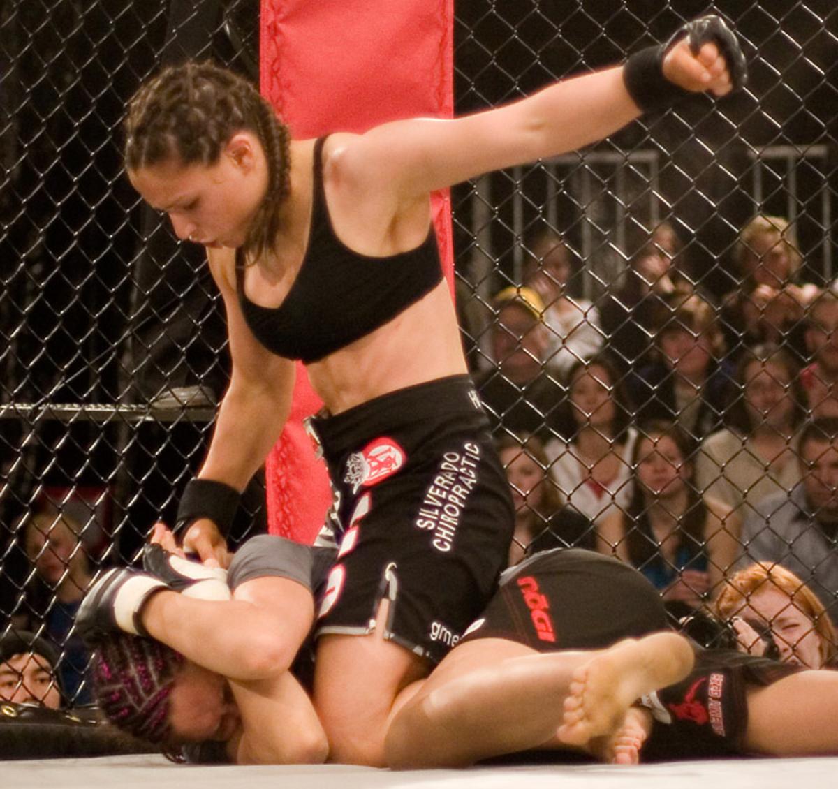 MMA fighter Gina Carano