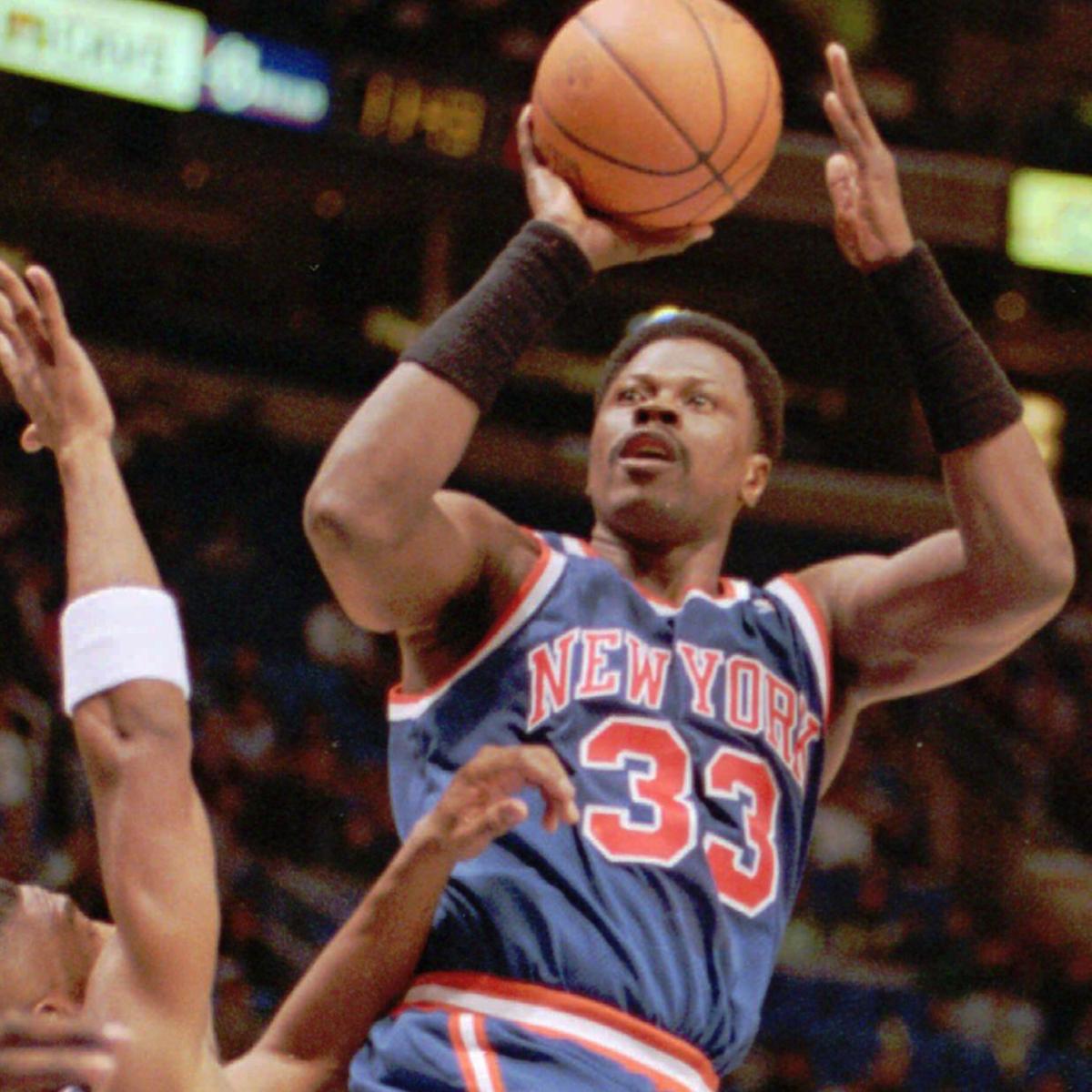 Patrick Ewing perimeter shot.