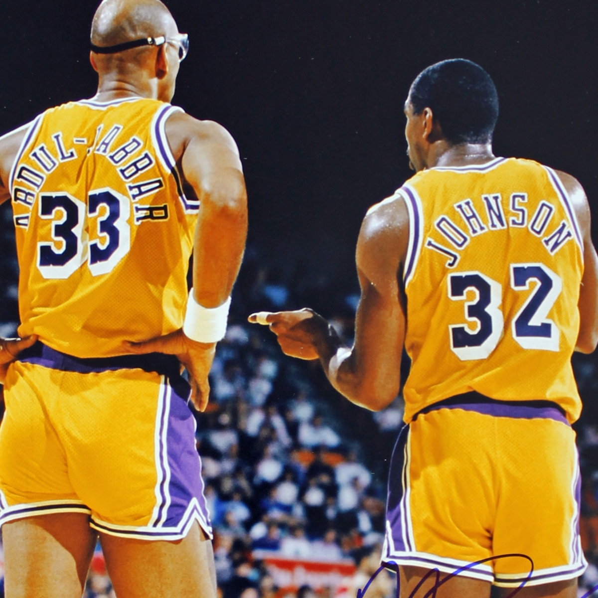 Magic Johnson and Kareem Abdul-Jabbar made an unstoppable duo.