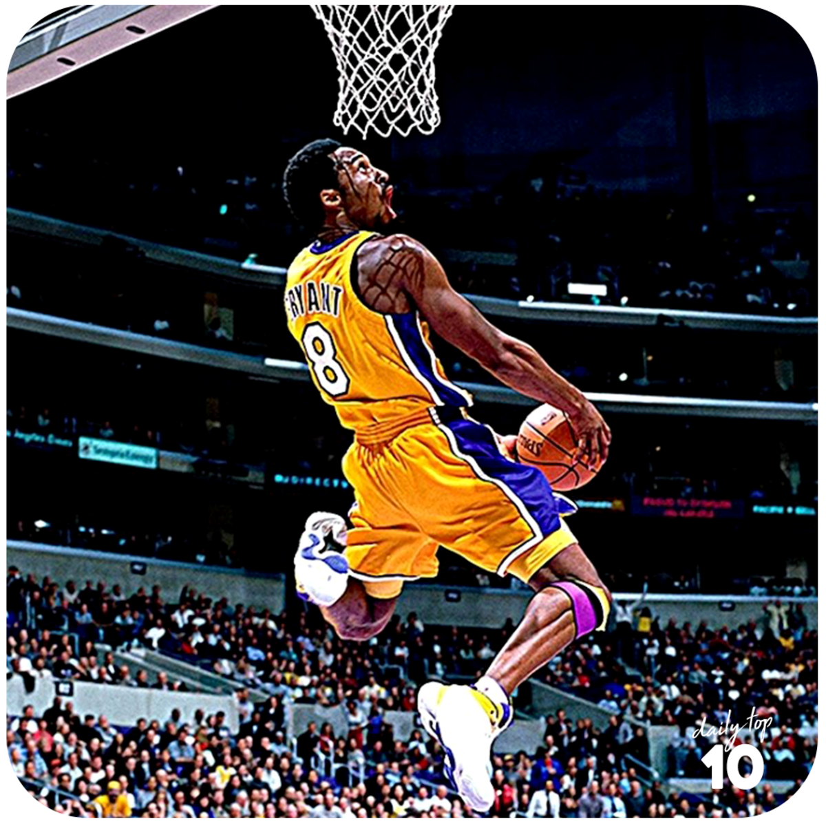 Kobe Bryant dunk.