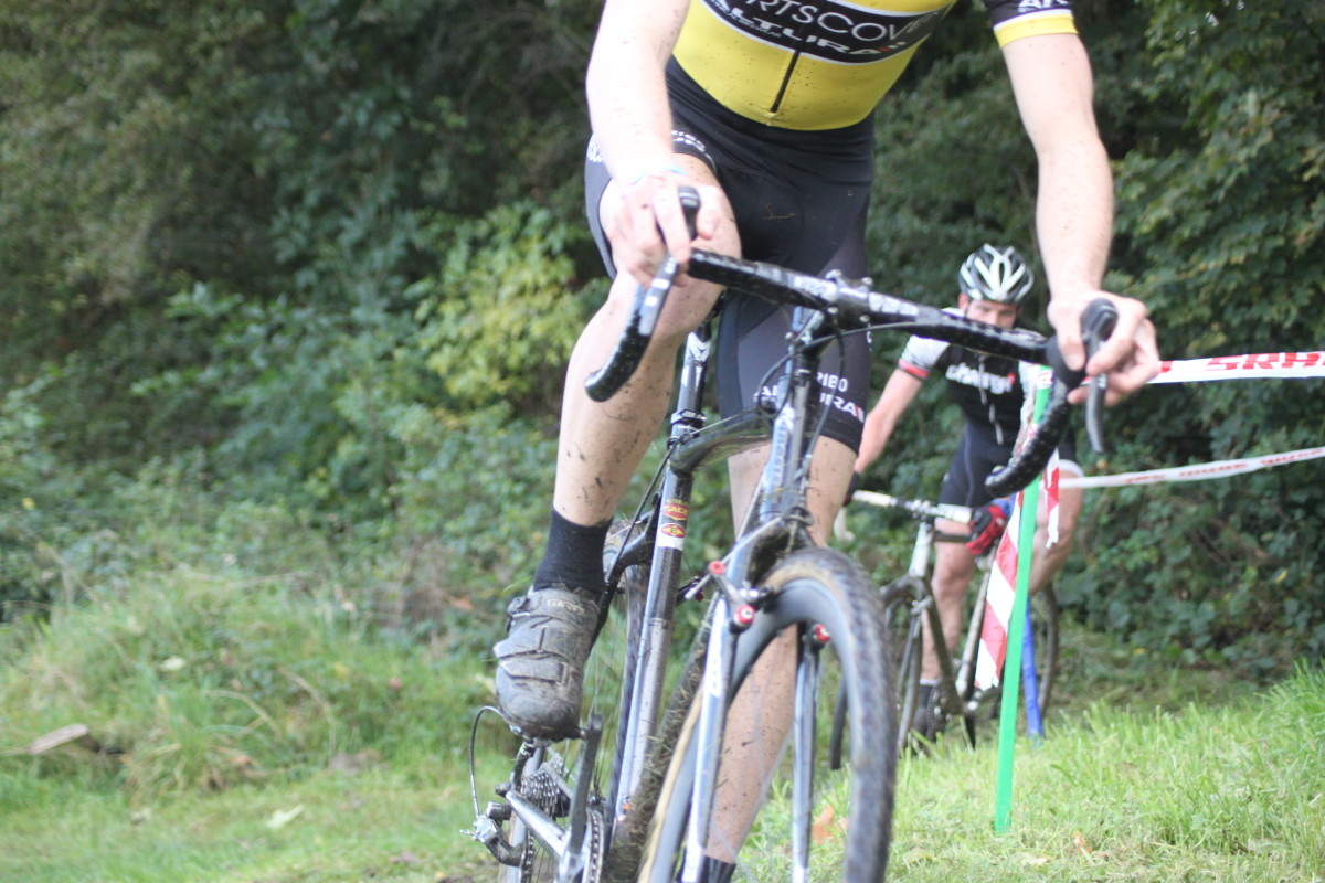 Modern cyclocross racing bikes feature cantilever brakes like those found on touring bikes, so there should be no need to change brakes.