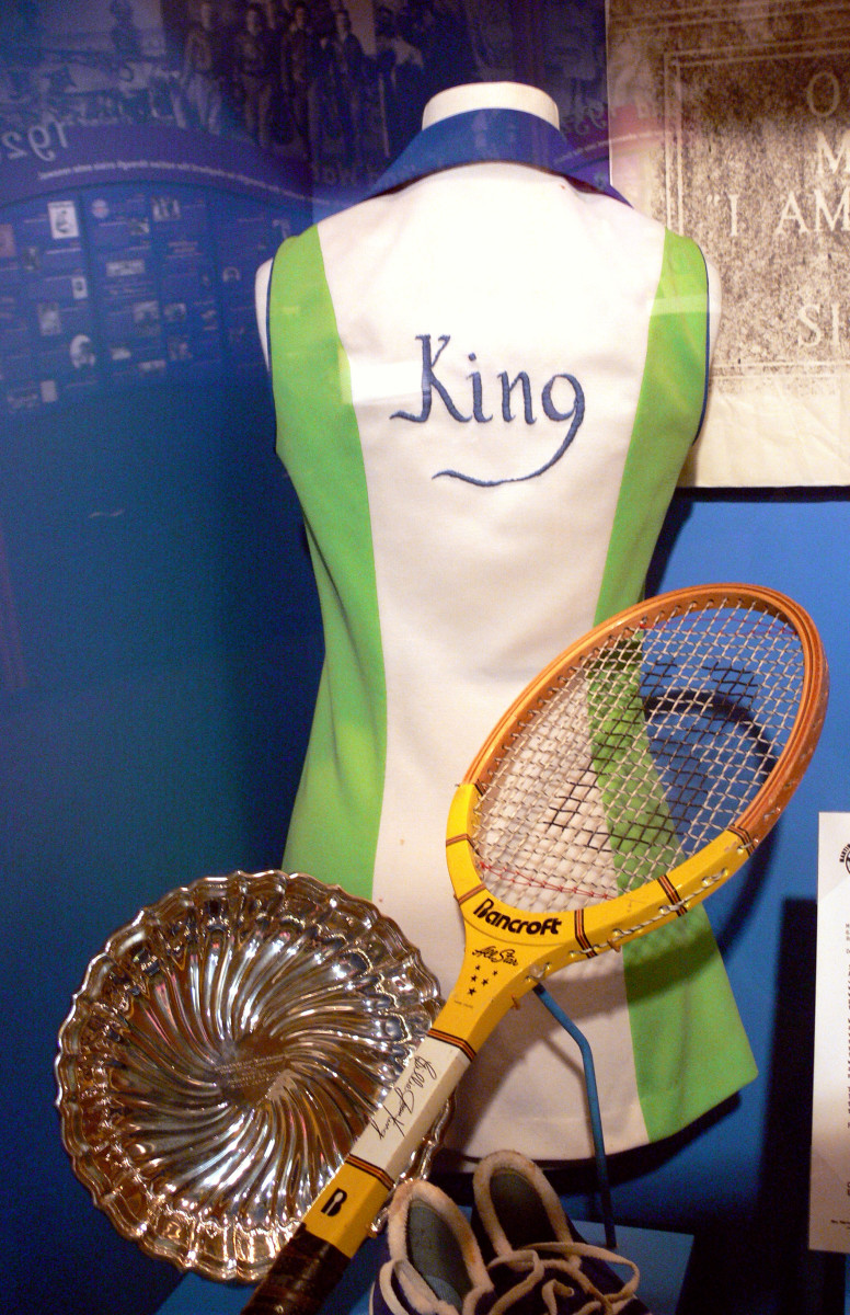 Billie Jean King's Tennis Gear