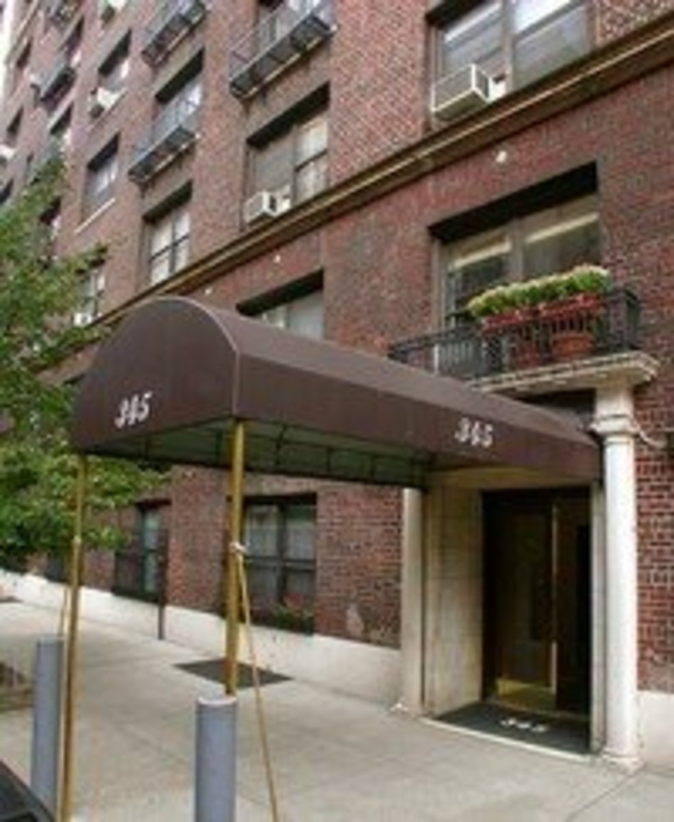 345 West 88th Street. Babe Ruth called this apartment home.