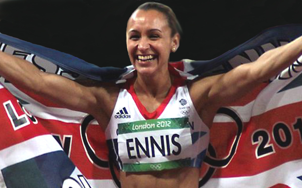 Jessica Ennis won gold for Britain in the heptathlon.