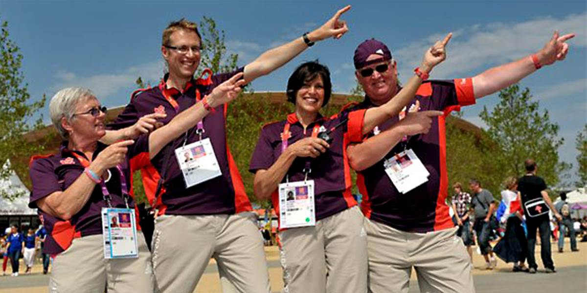 Four of the volunteers show that anything Usian Bolt can do, they can do better