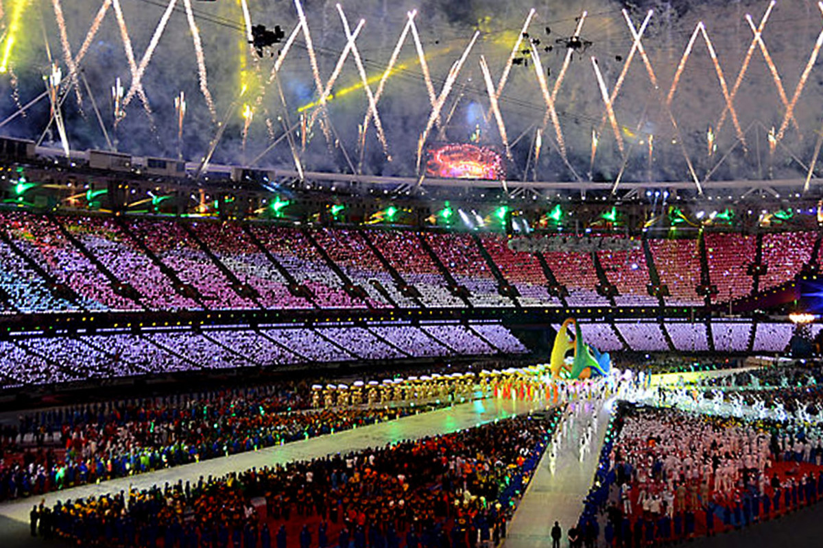 The Closing Ceremony of the London 2012 Olympics