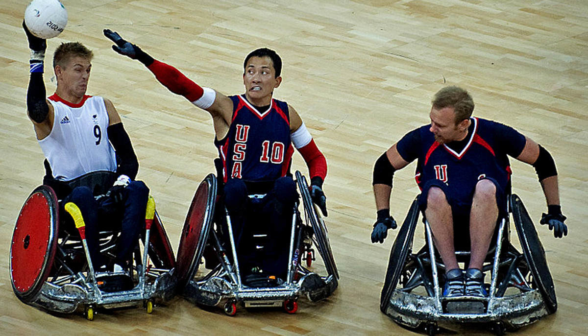 Paralympic Rugby: Great Britain vs. the United States