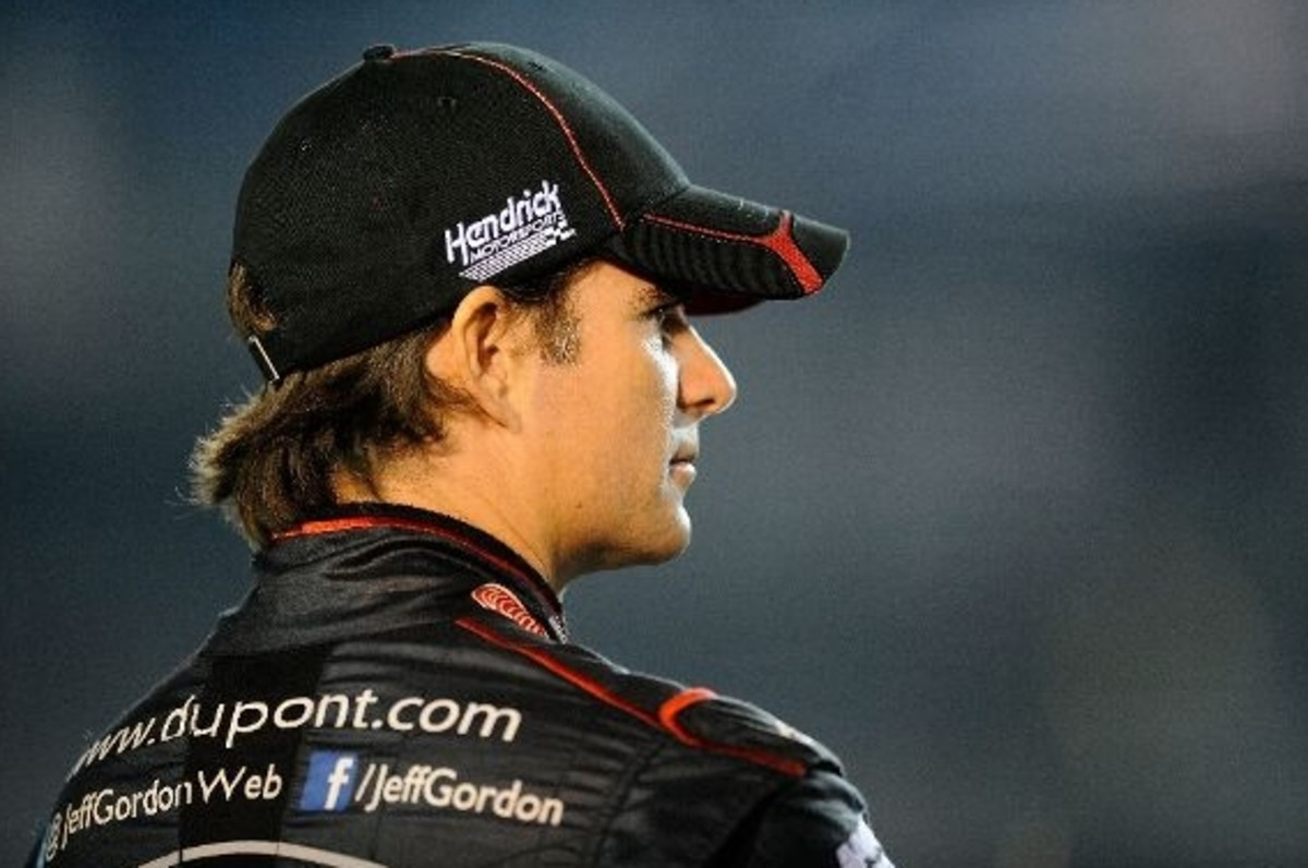 Jeff Gordon at Homestead
