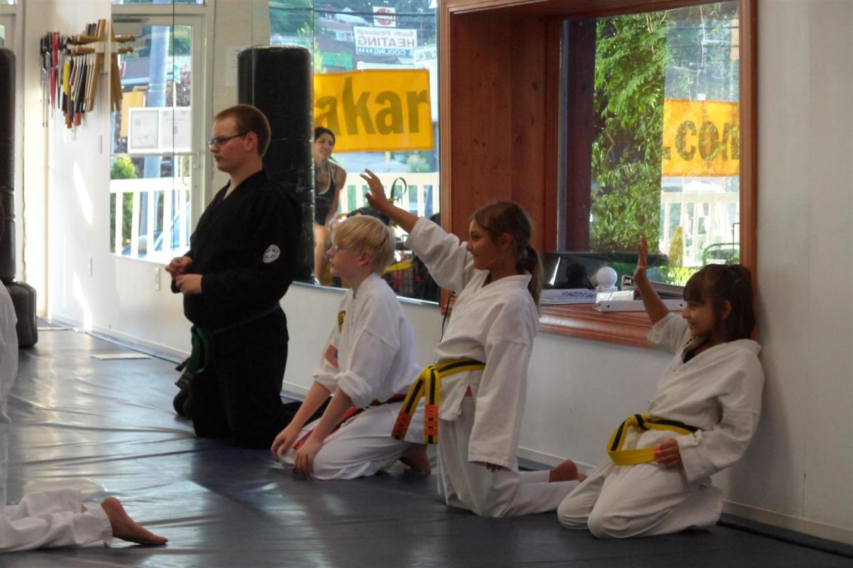 What are some karate games for kids?