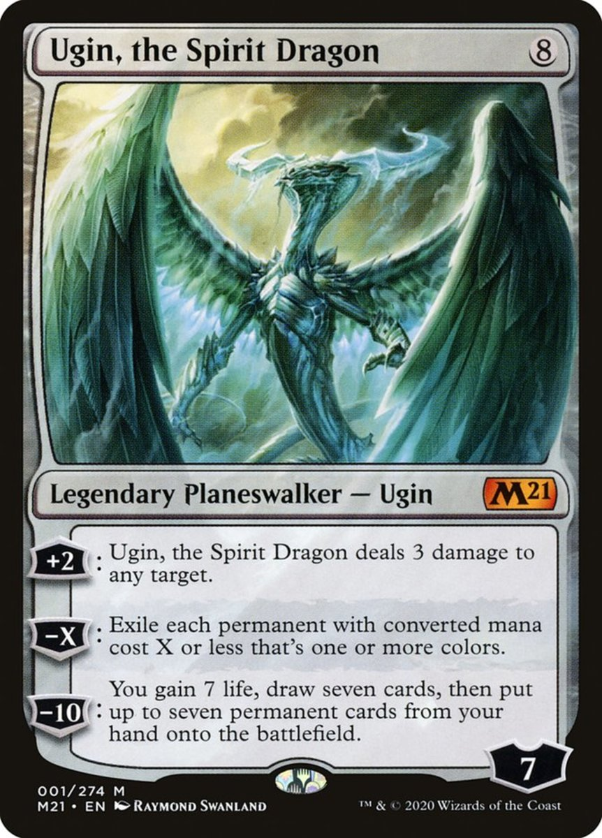 Ugin, the Spirit Dragon mtg