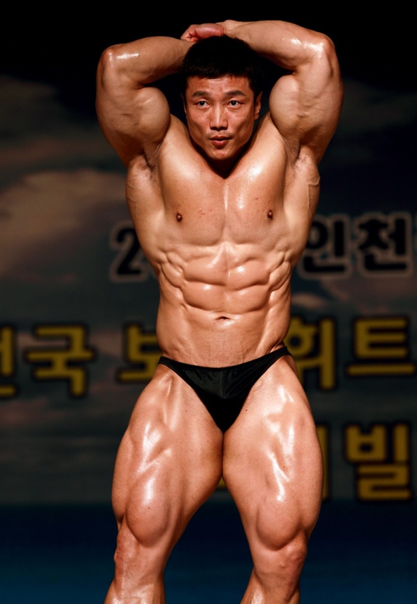 Kang at a 2012 competition in Incheon