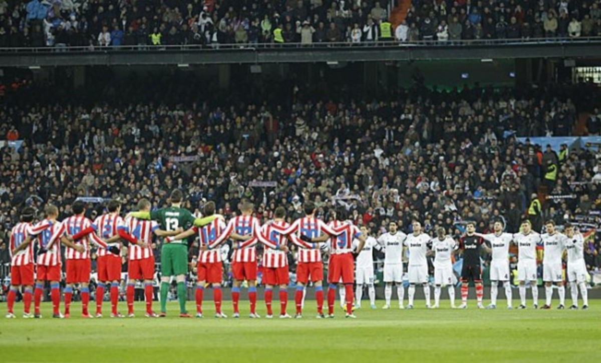 Real Madrid and Atlético square off in the Madrid derby.