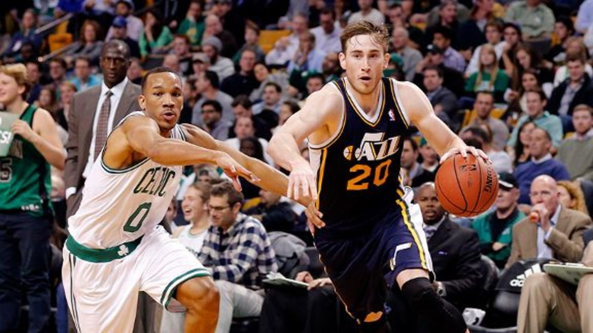 The jazz traded away all their talent for a chance at the number 1 overall pick.