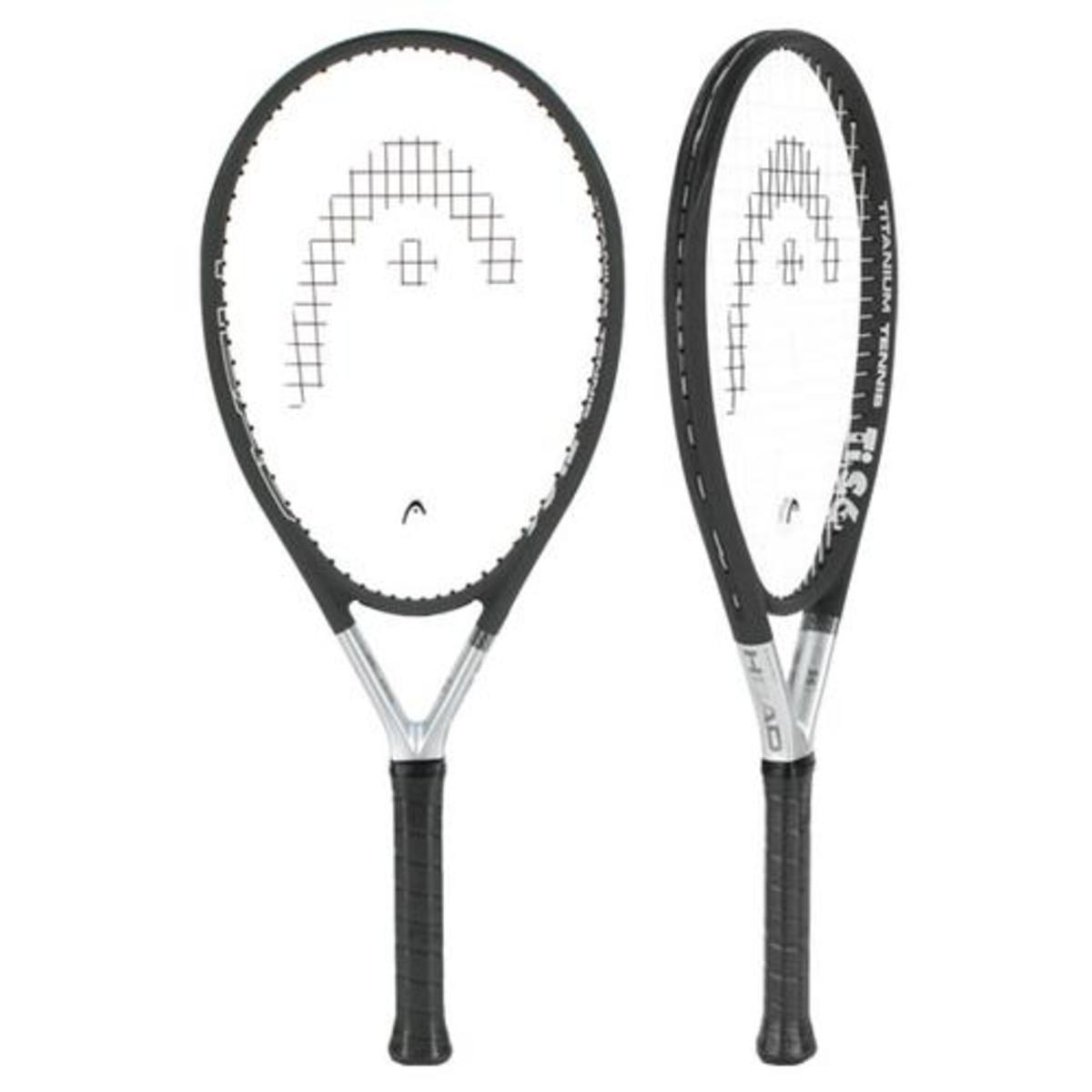 A long, light racket with a large head, the Ti.S6 is nonetheless a super comfortable racket to play with. It has a nice mix of large sweet spot, maneuverability and power.