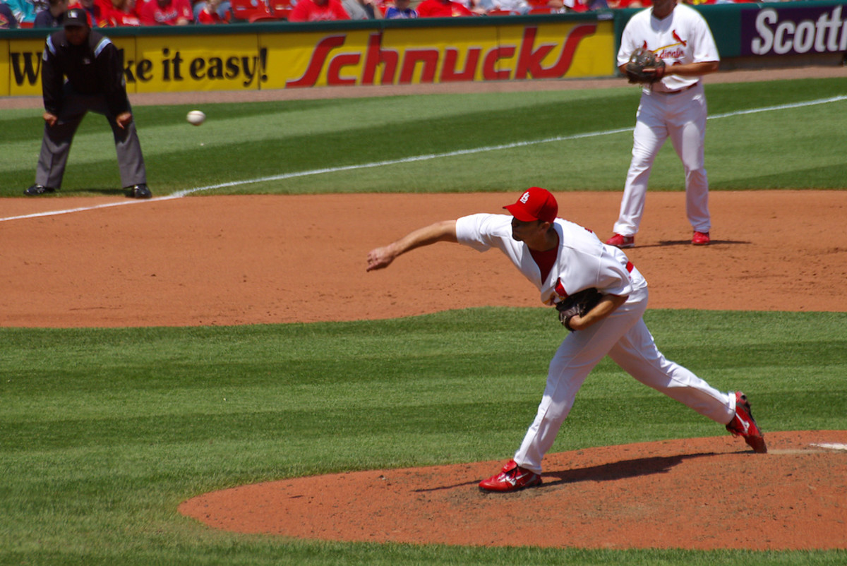 Adam Wainwright, American professional baseball starting pitcher.