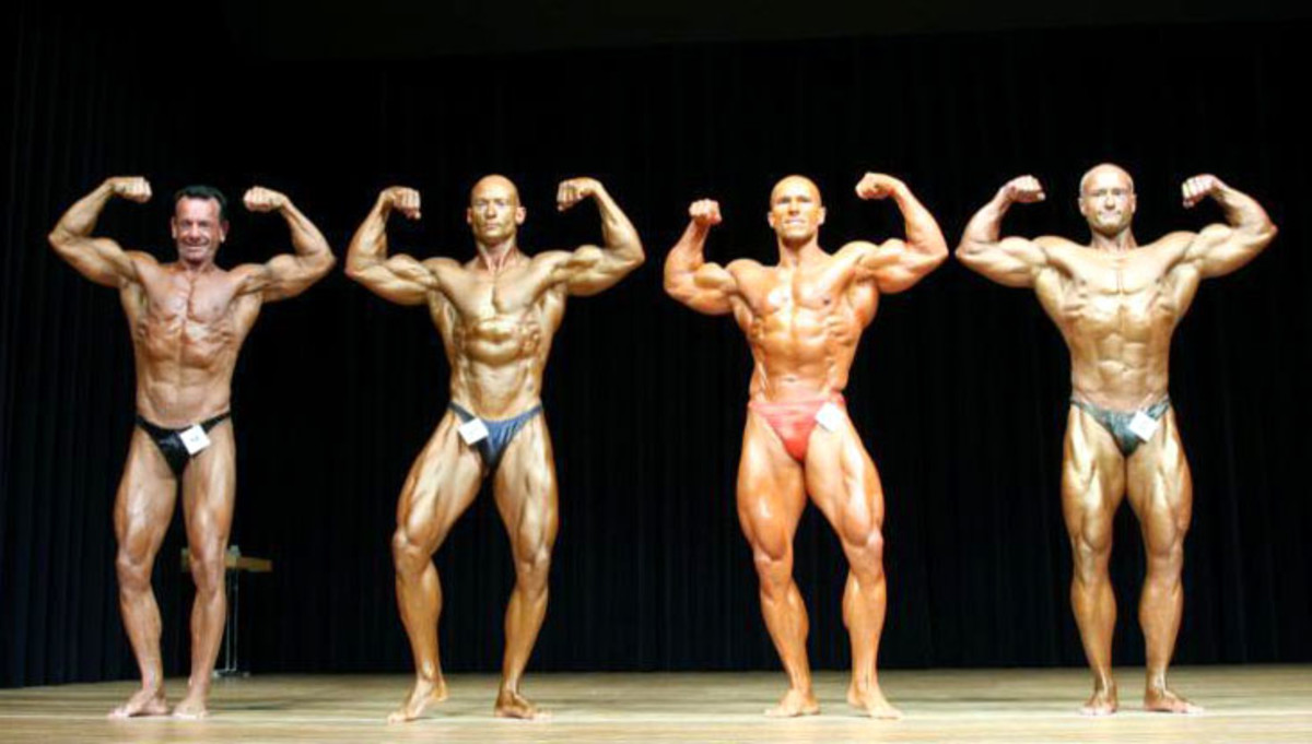 Bodybuilding Mr. Universe Competition in 2006.
