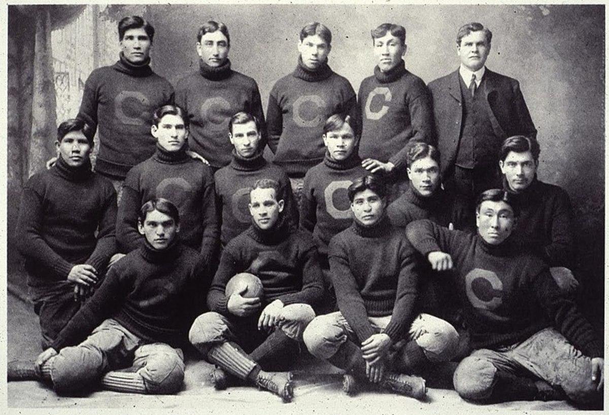 "Glen Scobey ""Pop"" Warner and Carlisle Indians, 1903"