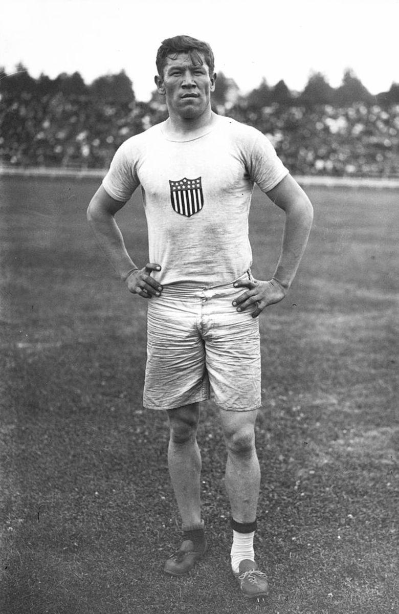 Jim Thorpe at the 1912 Olympics