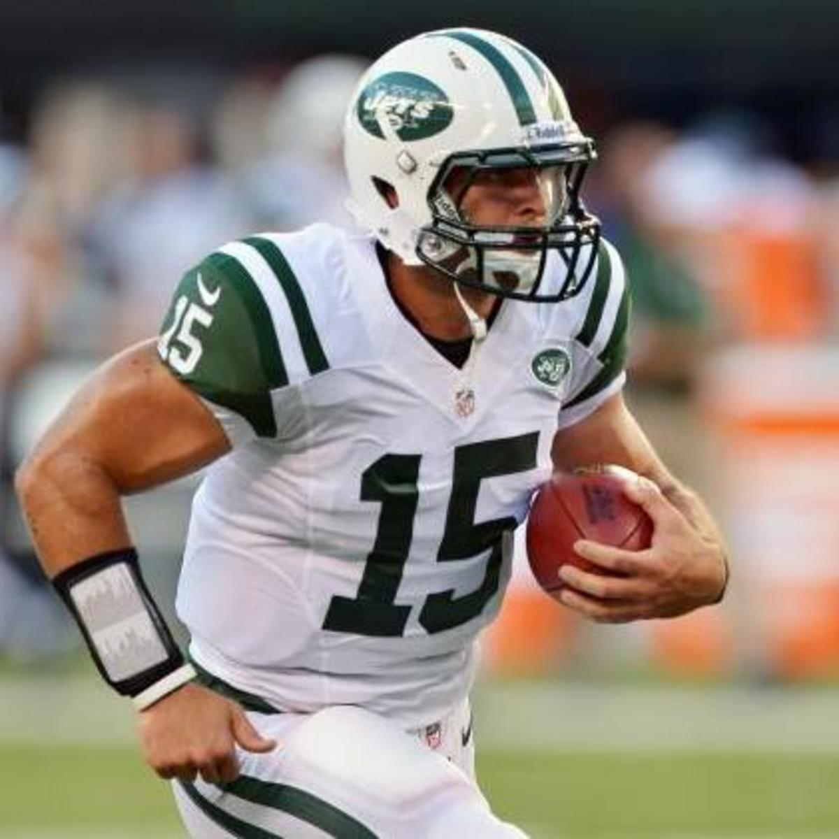 Tim Tebow with the Jets.