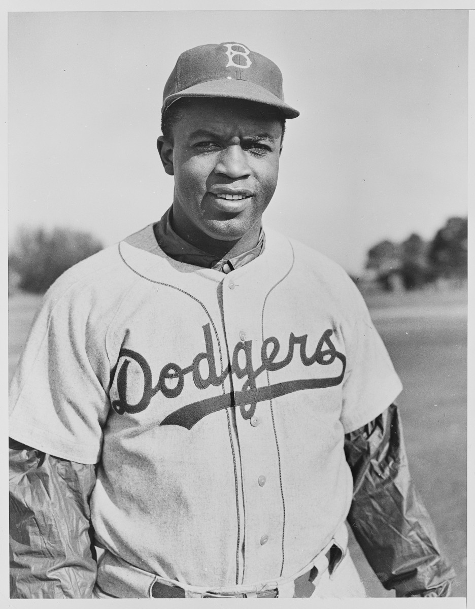 Jackie Robinson is seen in 1950. While he didn't know it at the time, he was becoming one of the most important individuals in the Civil Rights Movement that lasted into the 1960s.