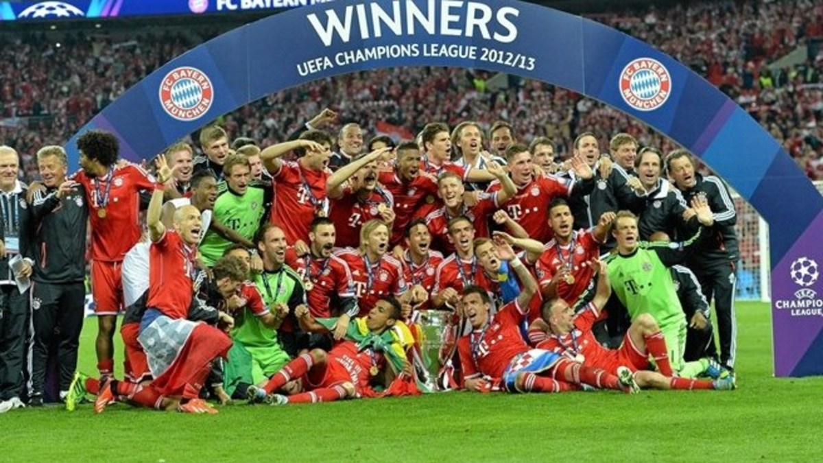Bayern Munich - 2012/13 UEFA Champions League Winners