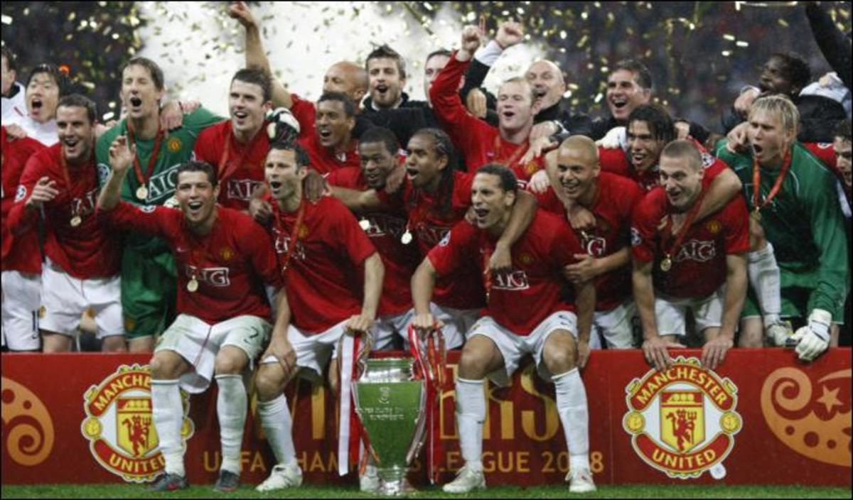 Manchester United - 2007/08 UEFA Champions League Winners